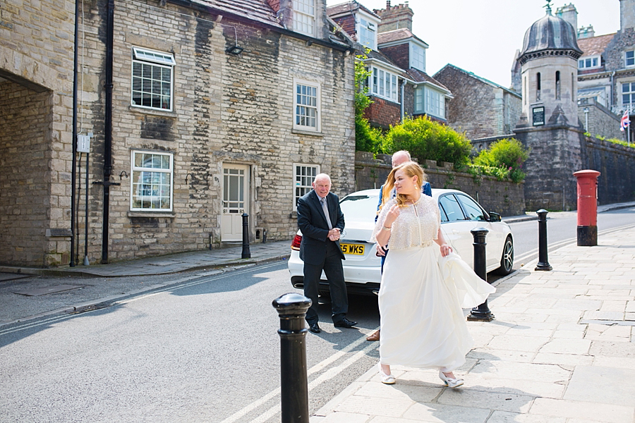 Swanage Town Hall Wedding Photos -008