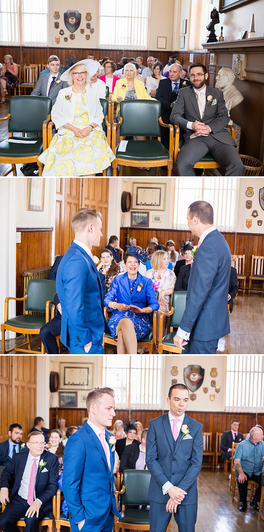 Swanage Town Hall Wedding Photos -010