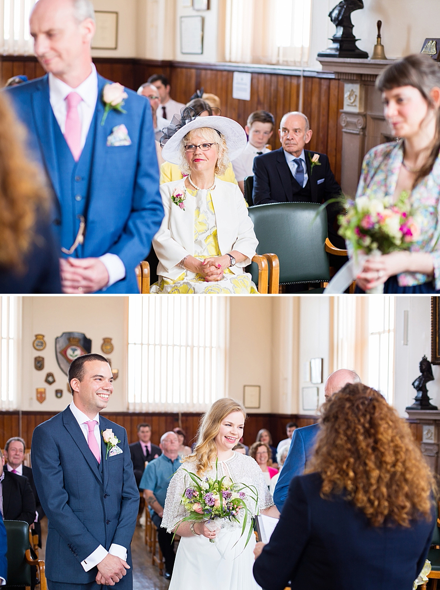 Swanage Town Hall Wedding Photos -012