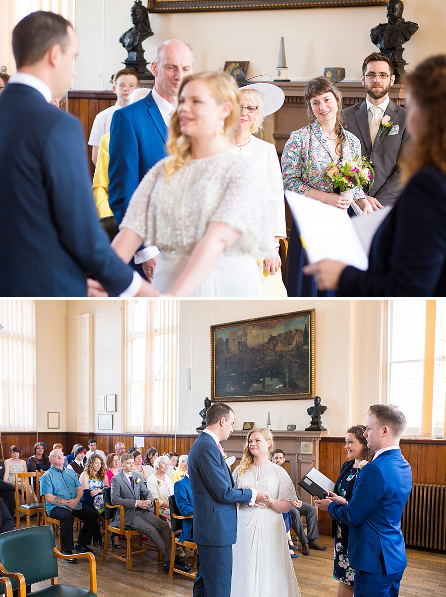 Swanage Town Hall Wedding Photos -015