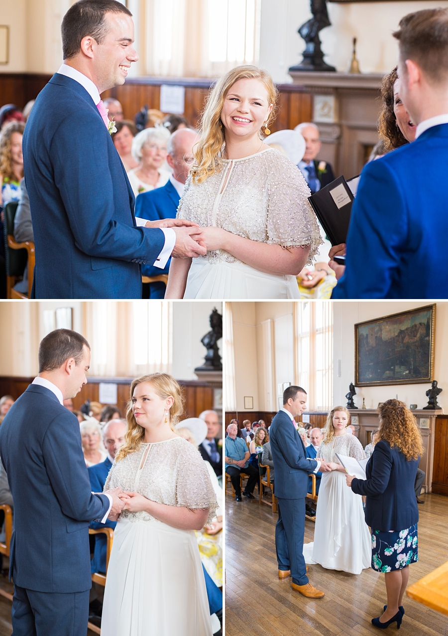 Swanage Town Hall Wedding Photos -016