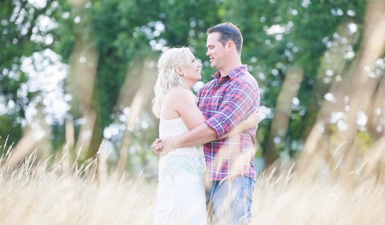 Romantic couple photos in surrey