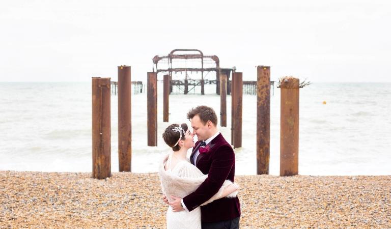 Natural Wedding Photos in Surrey