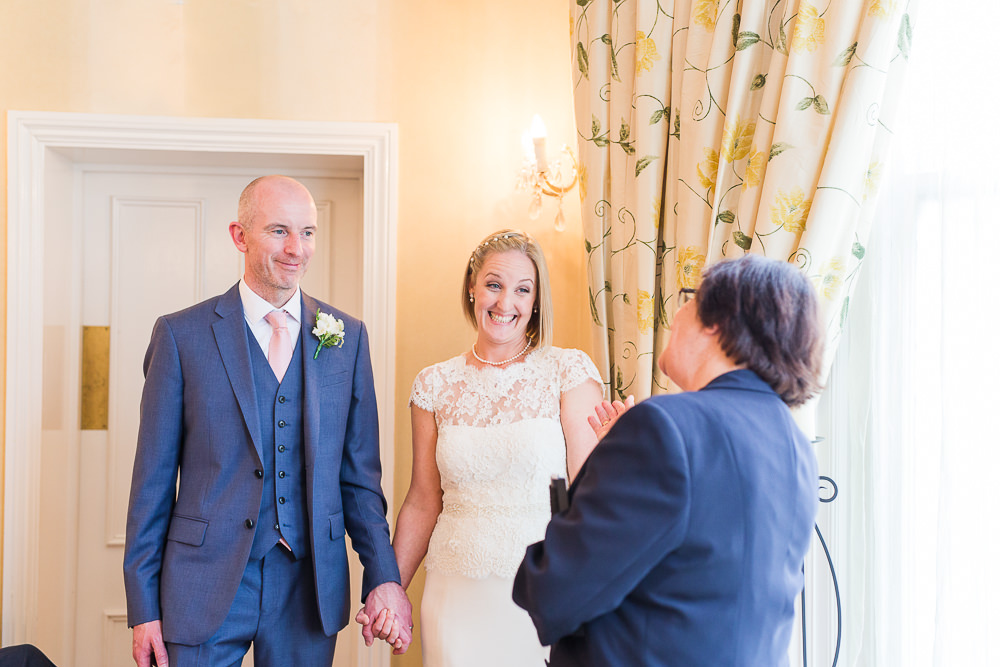 Wedding ceremony at The Mansion House Tunbridge Wells