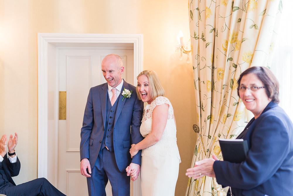Wedding ceremony The Mansion House Tunbridge Wells