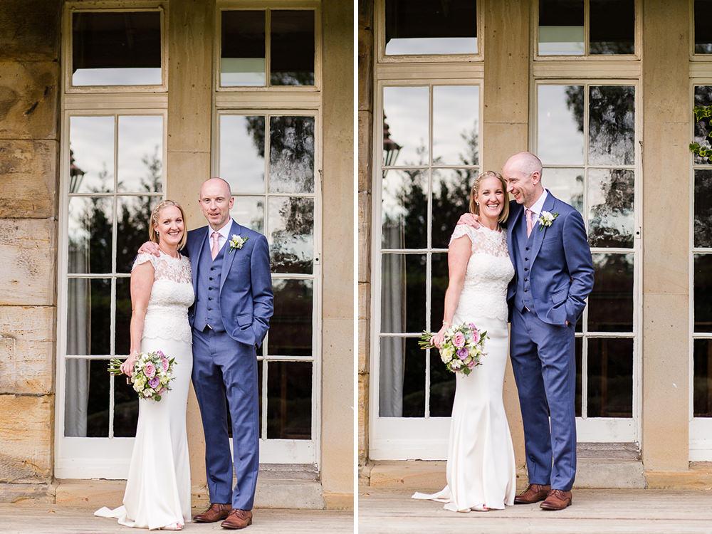 Bride and Groom photos around hotel Du Vin Tunbridge Wells