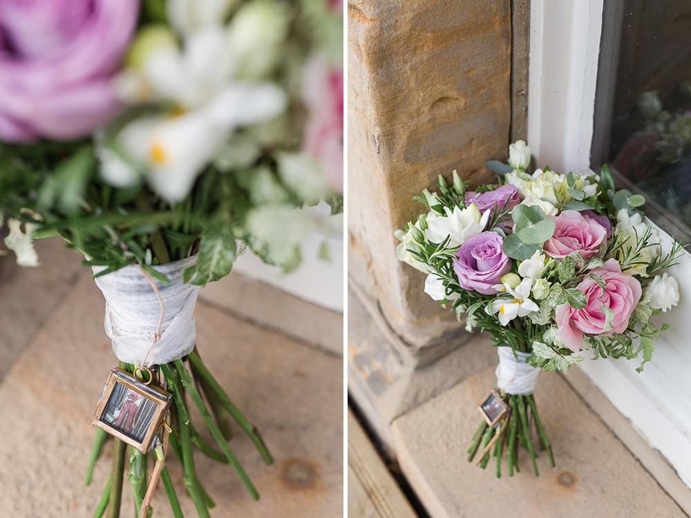 Wedding bouquet around hotel Du Vin Tunbridge Wells