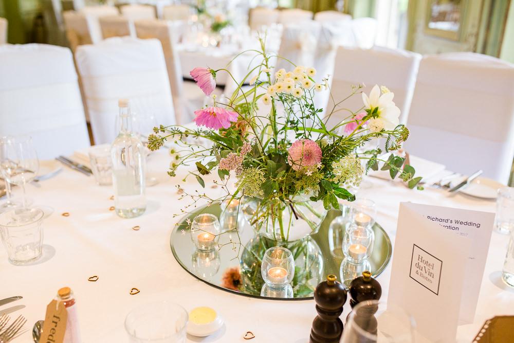 Table details at Hotel Du Vin