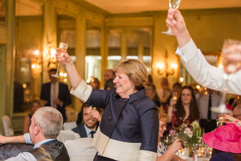Wedding speeches at Hotel Du Vin