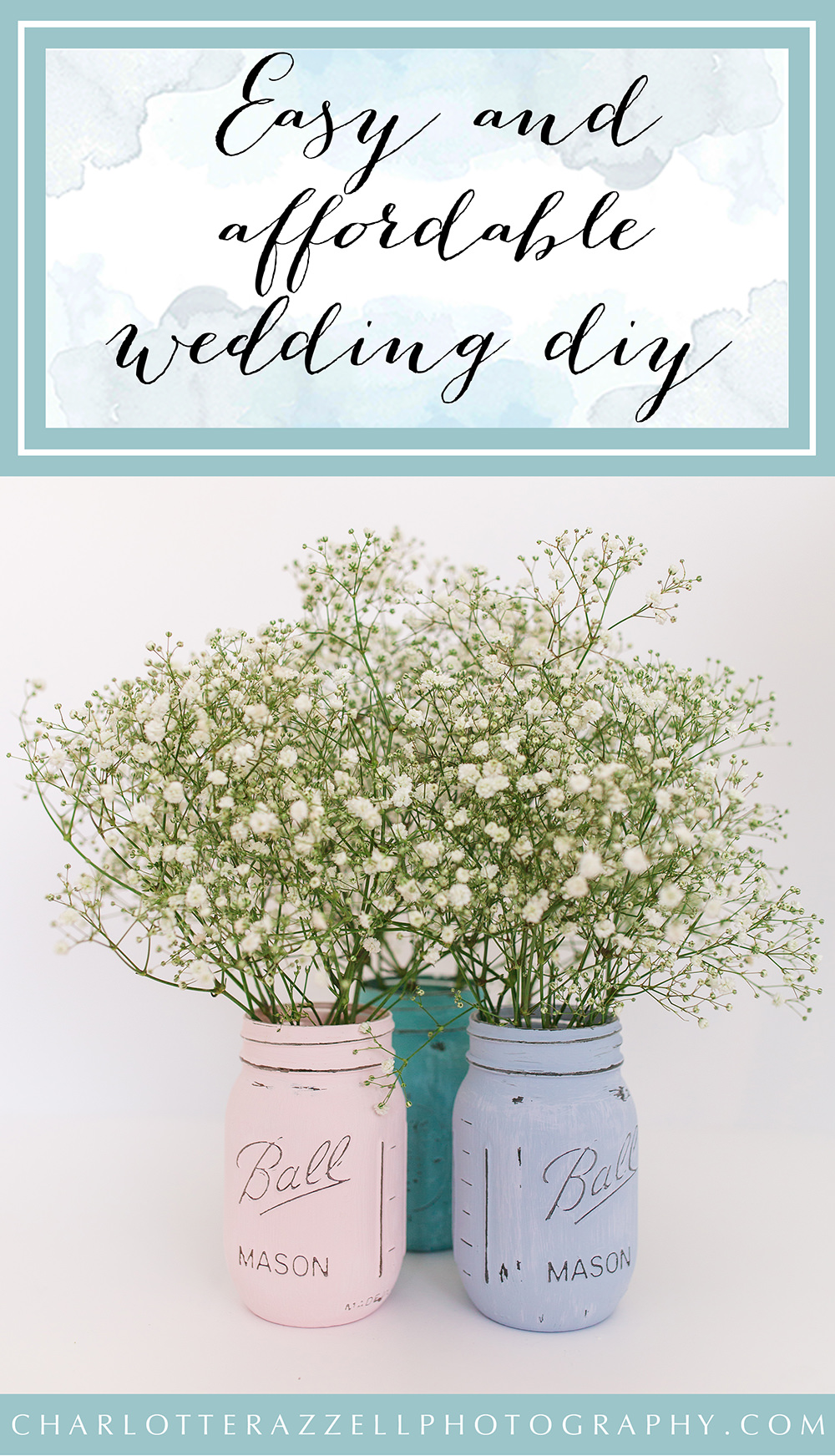 Easy and affordable wedding DIY