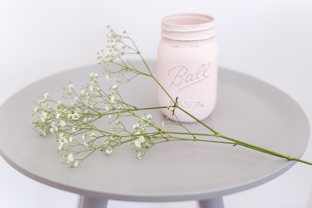 Wedding DIY project with maison jar