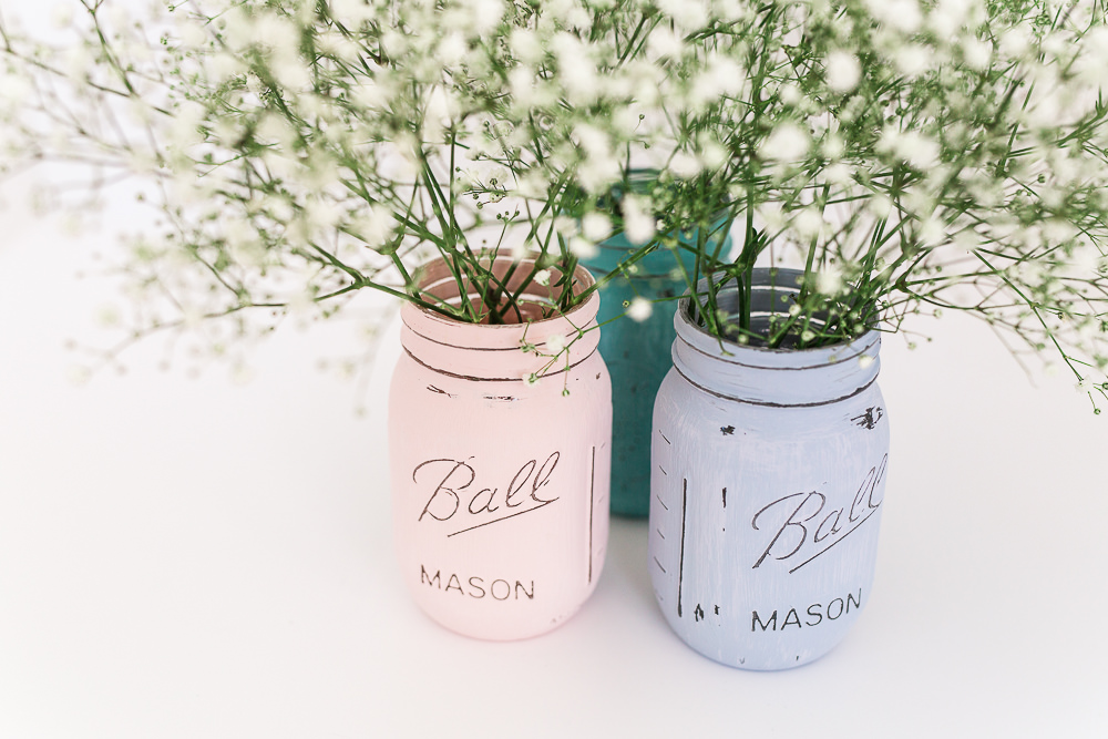 Ball Maison jar wedding DIY project