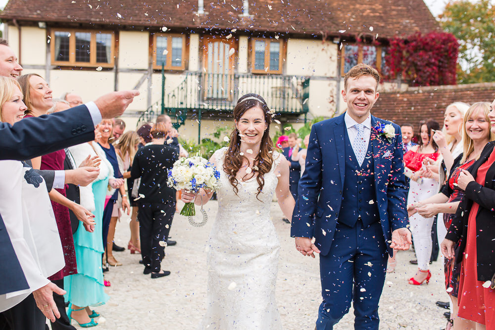 Confetti at Rivervale Barn