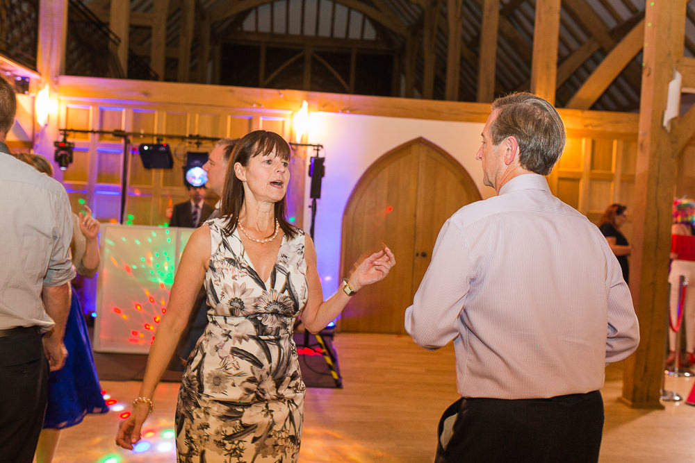 Wedding party at Rivervale Barn