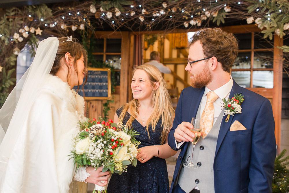 natural photo at Gate Street Barn wedding