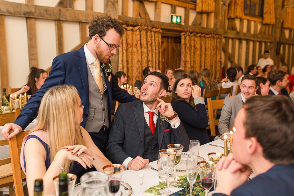 natural photos at Gate Street Barn wedding