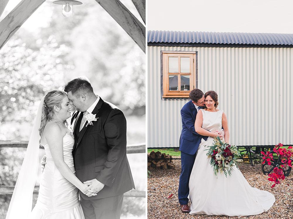 natural couple wedding photos