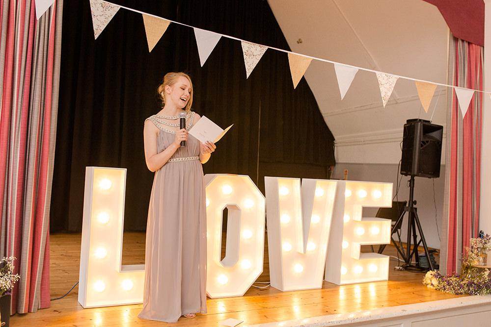 village hall wedding speeches
