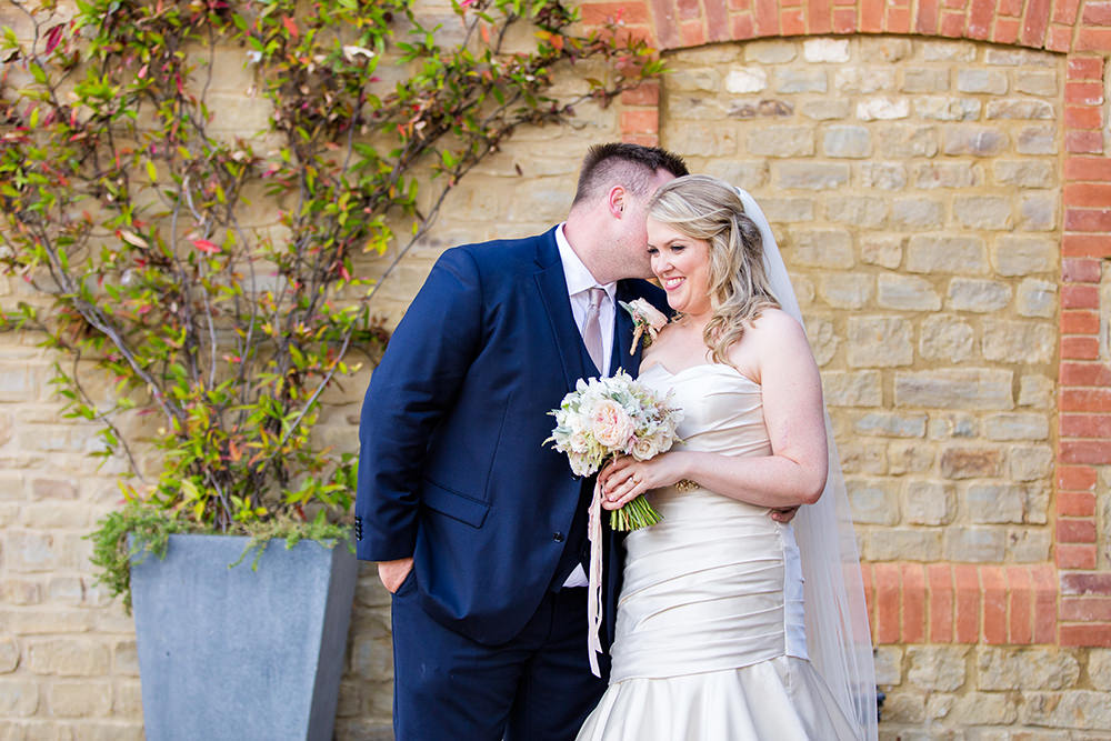 Bride and Groom at Millbridge Court Wedding