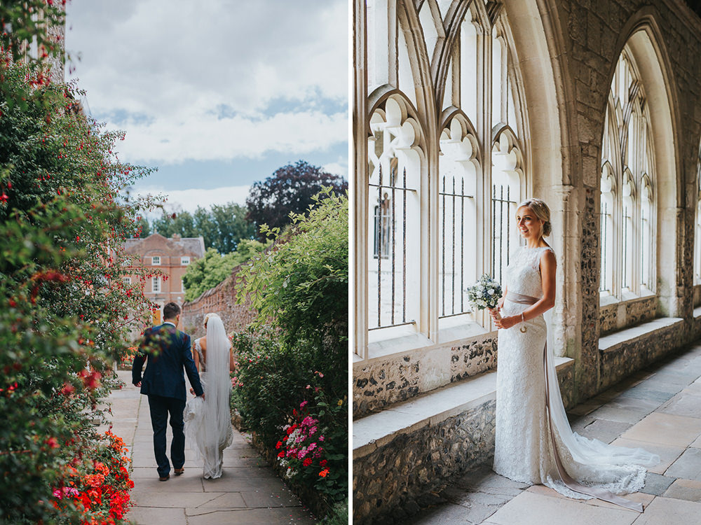 natural wedding photos in chichester