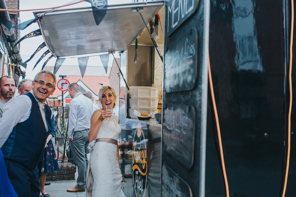 wedding fish and chip van