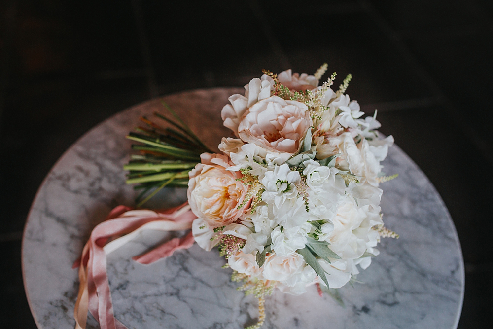 A Kate Avery wedding bouquet